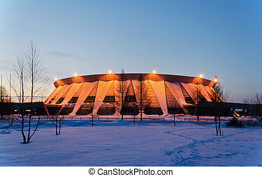 Palace of ice sports in Russia