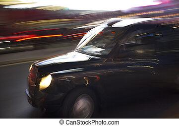 Londres, táxi, táxi