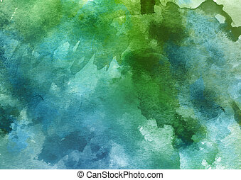 Colorful Watercolor Background. - Colorful Watercolor...