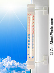 thermometer summer