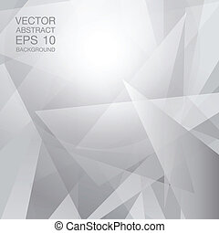 geometric abstract white background