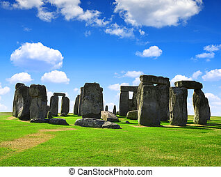Stonehenge - Historical monument Stonehenge,England, UK