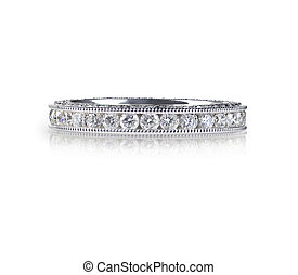 Beautiful Diamond Wedding Anniversary Band Ring - Beautiful...