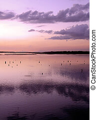 High Tide on Faro\'s swamp - High Tide on Ria Formosa, next...