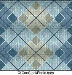 Argyle Sweater Background