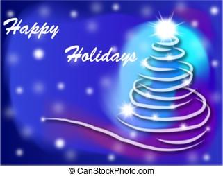 Happy Holidays - Holidays background
