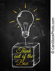 Think out of box bulb