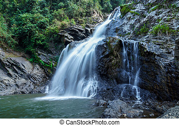 Krung Ching waterfall National Park Nakhon Si Thammarat,...
