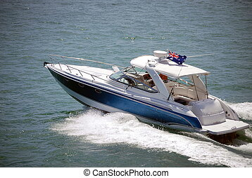 Luxury Sport Fishing Boat