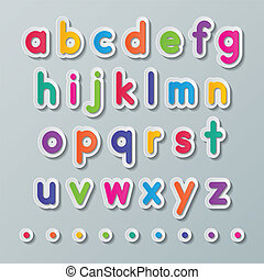 paper small letters