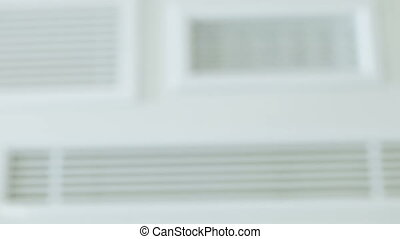 Ventilation air conditioner - Ventilation grilles for...