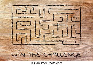 metaphor maze design: find your way