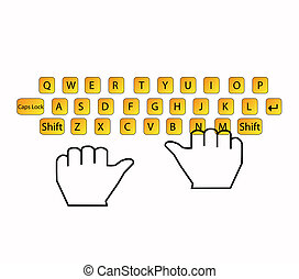 typing keyboard - Icon keyboard