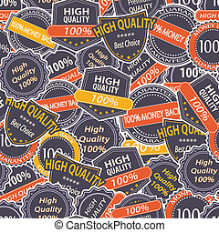 Seamless Pattern with Quality Guarantee Labels
