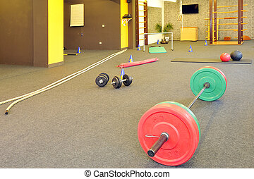 CrossFit - Functional - Fitness and CrossFit in a gym
