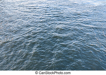 background of the surface of the river water