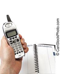 電話, 書, 地址, 藏品, 無繩