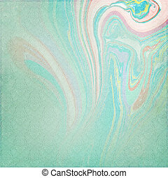 Shabby Chic Background with marbeled color