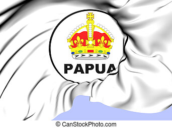 Territory of Papua Seal 1906-1949 Close Up