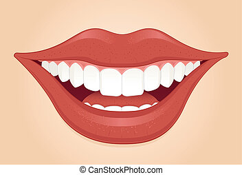Dental smile Vector Clip Art EPS Images. 7,057 Dental ...