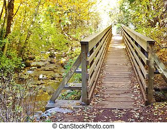 LITHIA PARK IN THE FALL - Lithia Park is located in Ashland...