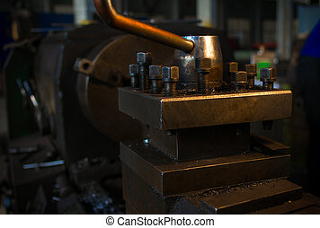 The old machine parts - Also the operation of the old...