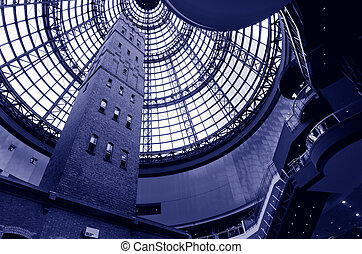 Melbourne Central Shopping Centre - MELBOURNE - APR 11...