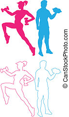 Gym and sport - Practice, academia, sports, health,...