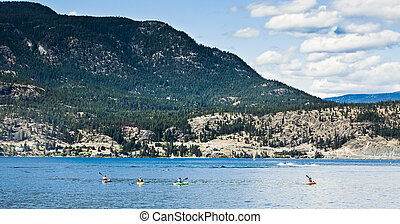 Watersports on Lake Okanagan