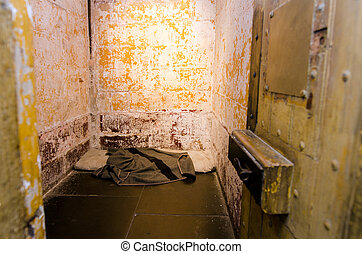 Old prison cell - Empty old prison cell interior