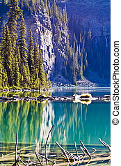 Reflections in Scenic Lake Ohara