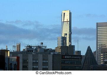 Eureka Tower - Melbourne - MELBOURNE - APR 12 2014:Eureka...