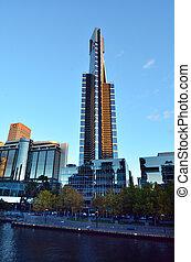 Eureka Tower - Melbourne - MELBOURNE - APR 14 2014:Eureka...