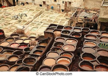 Morocco Tannery