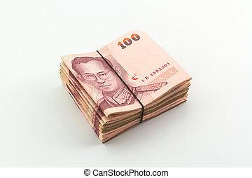 Thai money.