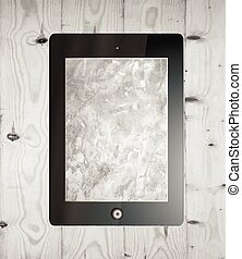 digital tablet - Preview digital tablet for design vector...