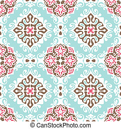 Seamless abstract vector - Seamless abstract tiled pattern...