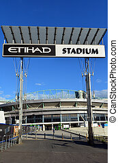 Docklands Etihad Stadium - Melbourne - MELBOURNE - APR 14...