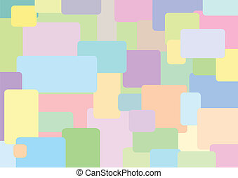 Abstract pastel colors vector background