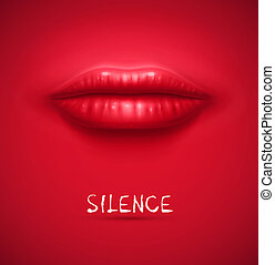 Silence background - Abstract silence background, eps 10
