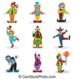 Clown icons