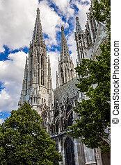 Votive Church in Vienna, Capital of Austria - Vienna,...