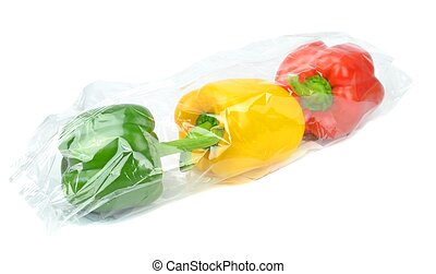 Prepacked Paprika Peppers - Fresh prepacked paprika peppers...