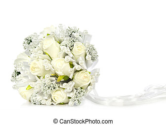 Bridal Bouquet isolated