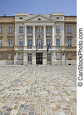Parliament Palace, Zagreb 6 - Historic building, home to...