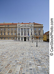 Parliament Palace, Zagreb 4 - Historic building, home to...