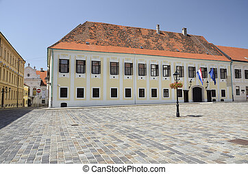 Palace of the Bano, Zagreb - Administrative building of...