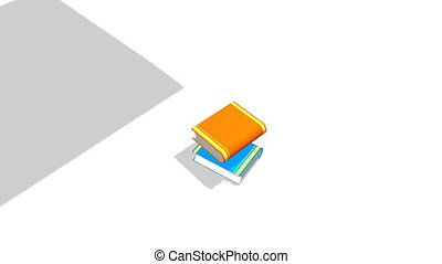 Books Being arranged on top of each other