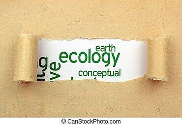 tierra, ecología