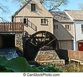 historic mill - New England gristmill